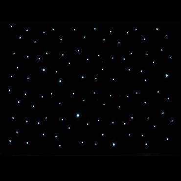 Black Starcloth Hire