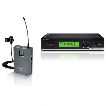 Sennheiser Wireless XSW12 Presentation Set with clip on mike
