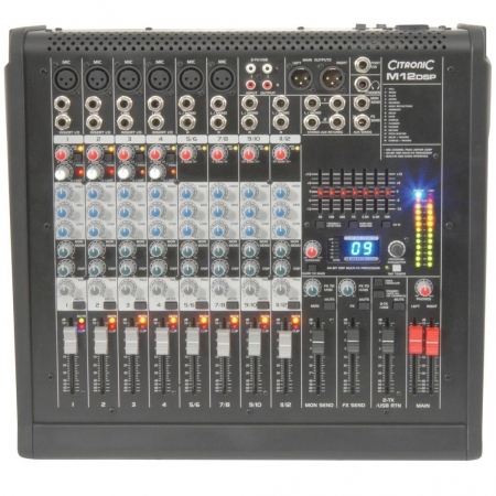 citronic m12 mixer
