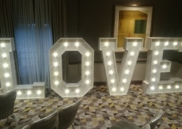 5ft LOVE at solent hotel and spa