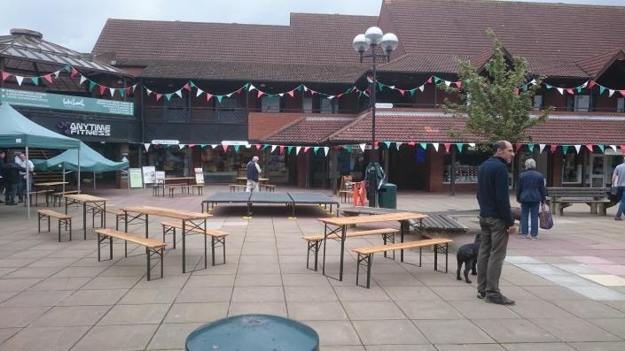 Table Bench Sets Locks Heath Shopping Center