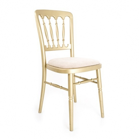 gold cheltenham chair hire