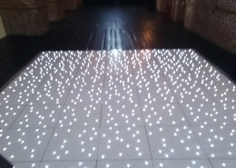white led dancefloor at explosion museum of firepower gosport