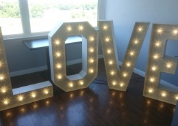 4ft LOVE Vintage at Skylarks