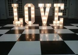 black and white dancefloor botley grange hotel and spa