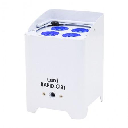 Battery Uplighter QB1 RGBW White Housing