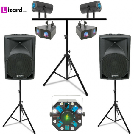 DJ Party Systems 2 equipment hire