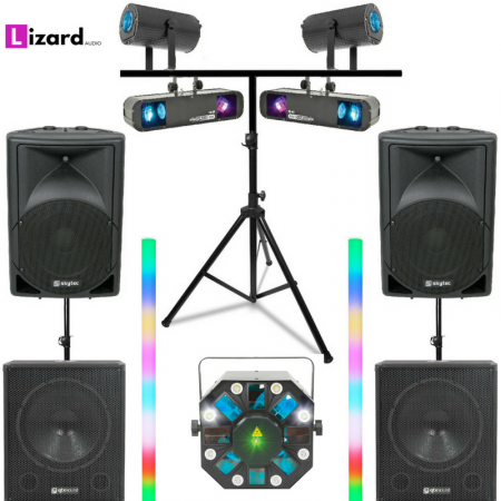 DJ Party Systems 3 equipment hire