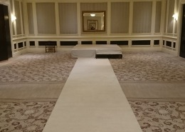 four seasons hotel aisle runner and stage hire e1522001054118