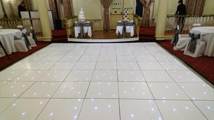 white led dancefloor queens hotel southsea