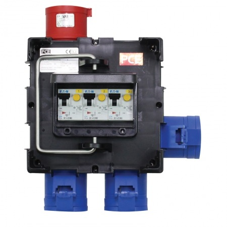 IMST Distribution Box 32A Three Phase In 3 x 32A Single Phase Out