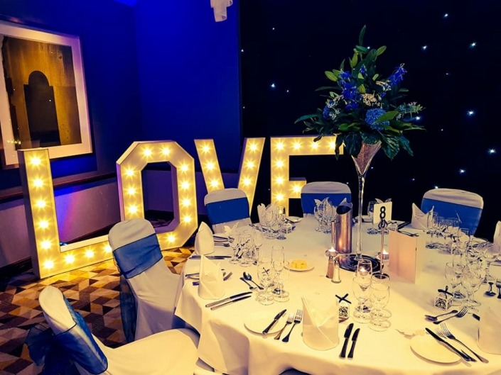 4ft LOVE at solent hotel and spa whitley