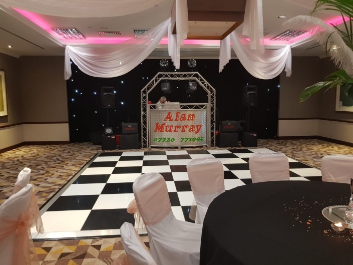 black and white dancefloor solent hotel and spa