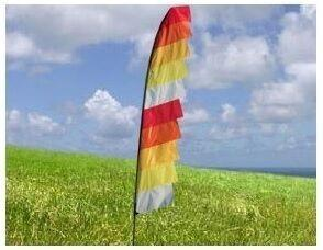 4m Hot Poker Feather Festival Flag