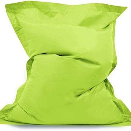Large Green Bean Bag Beanbag 140 x 91 cm cushion